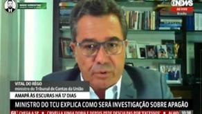 Vital do Rêgo diz que TCU vai cobrar providências e responsabilizações sobre apagão no Amapá