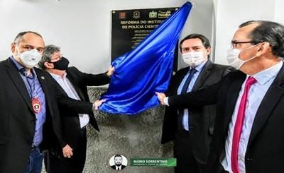 João Azevêdo entrega reforma do IPC de JP e parabeniza Polícia Civil pelos 39 anos de fundação