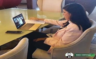 Lígia Feliciano participa de audiência com ministro das Comunicações e reforça pedido de expansã...