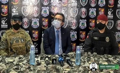 Cinco suspeitos de integrar organização criminosa de atuação nacional são detidos em operação na PB