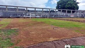 Prefeitura de João Pessoa troca gramado do Estádio da Graça e instala novas bombas para irrigação