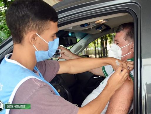 Secretaria de Saúde lembra que agendamento é indispensável para a vacina contra a Covid-19 em JP