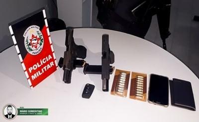 Polícia Militar apreende 20 armas de fogo nas últimas 24h na Paraíba