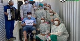Paciente de 62 anos vence a Covid-19 após quase 20 dias de internação em Patos