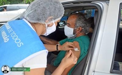 Prefeitura de João Pessoa começa a vacinar idosos de 75 a 79 anos contra a Covid-19 na segunda-feira