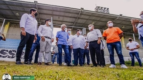 Cícero garante reativação do Parque das Três Lagoas para a prática de canoagem e inspeciona equip...