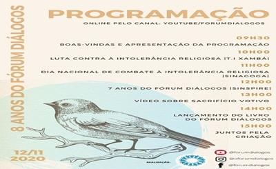 Fórum Inter-Religioso de PE, celebra oito anos com programação virtual
