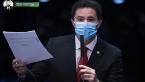No retorno das sessões do Senado, Veneziano defende que liberação de 30% de torcidas nos estádio...