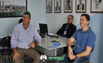 Veneziano enaltece parceria Cagepa e Hospital Napoleão Laureano e trata da extensão do benefíci...