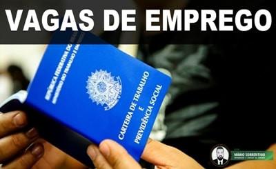 Sine Paraíba disponibiliza 182 vagas de emprego a partir desta segunda-feira (1º)