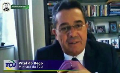 No TCU, Ministro Vital do Rêgo homenageia advogados e fala pela 1ª vez de um fato marcante dos úl...