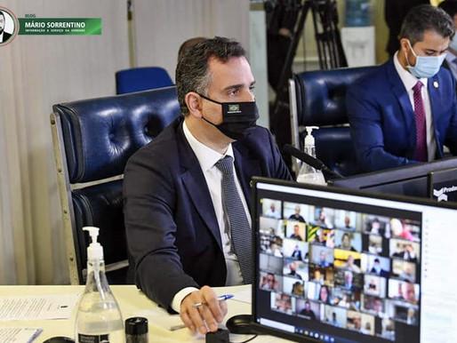 Presidente do Senado oficializa abertura da CPI da Pandemia