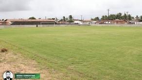 Conde: Obras do Estádio Sebastião Ribeiro estão em fase de conclusão