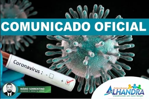 Coronavírus: Prefeitura de Alhandra declara situação de emergência e suspende eventos e aulas