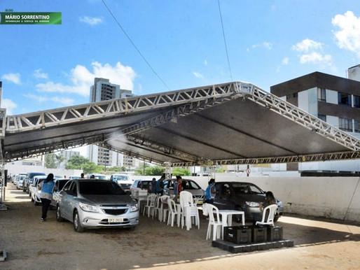 Prefeitura de João Pessoa concentra na segunda dose da CoronaVac e Astrazeneca neste domingo (02)