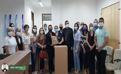 Hospital Regional recebe doação de equipamentos da Diocese de Patos