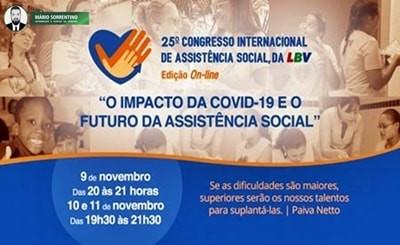Congresso da LBV reúne autoridades da Assistência Social, para discutir sobre o futuro do setor p...