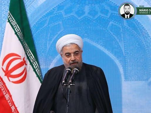 'Nunca ameace a nação iraniana', diz presidente do Irã