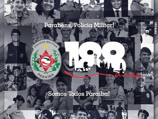 Polícia Militar da Paraíba completa 188 anos de história e abre semana de celebrações e homenagens