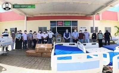 Hospital Geral de Taperoá recebe equipamentos para renovação do seu parque tecnológico