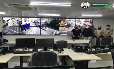 Segurança implementa 1ª parte de Sistema de Vídeomonitoramento na Paraíba