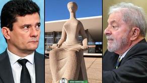 Plenário do STF forma maioria para manter suspeição de Moro para julgar Lula