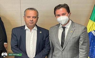 Senador Veneziano trata com ministro Rogério Marinho sobre bombeamento no Eixo Leste da Transposição