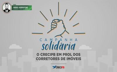 Creci-PB segue com campanha social em prol dos corretores de imóveis