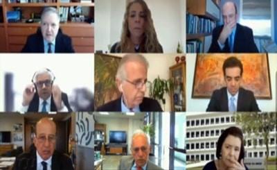 Vídeo: Ministros do TCU manifestam apoio e se solidarizam com o Ministro Vital do Rêgo