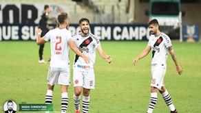Vasco vence Ceará por 3 a 0, mantém 100% e assume liderança do Brasileiro