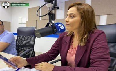 Ana Cláudia lamenta que Prefeitura de Campina, após desativar sistema integrado, retire outro ben...
