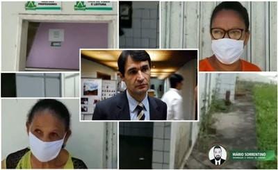 Vídeo: abandono de escolas e creches pela gestão Romero volta a ser alvo de reclamações da popula...