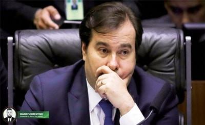 PGR reabre inquérito contra presidente da Câmara, Rodrigo Maia