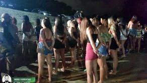 Polícia Militar encerra duas festas com mais de 200 pessoas na zona sul da capital