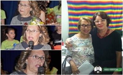 Hoje o Blog Mário Sorrentino deseja feliz aniversário a Tarita Brito