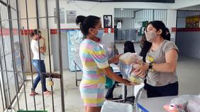 PMJP entrega de kits de alimentos nas escolas e garante continuidade da distribuição nas creche