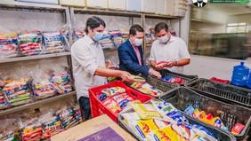Prefeitura de JP distribui mais de 75 toneladas de alimentos para famílias em vulnerabilidade