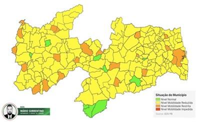 Paraíba se mantém estável na 6ª avaliação do Plano Novo Normal