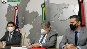 João Azevêdo e embaixador dos EUA estabelecem parcerias em áreas estratégicas para o desenvolvime...