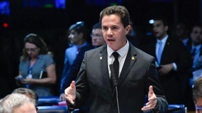 Presidente Nacional Baleia Rossi e Líder do MDB no Senado Eduardo Braga renovam convite para Vene...