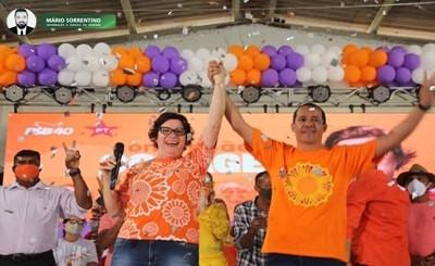 Conde: candidaturas de Márcia Lucena e do vice Aleksandro Pessoa é deferida pela Justiça Eleitoral