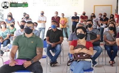 Prefeita Márcia Lucena dá posse a 21 professores concursados para rede municipal de Conde
