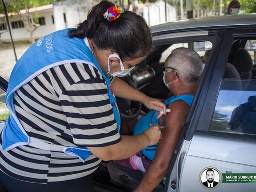João Pessoa reforça vacina de quem tomou a 1ª dose da Coronavac até 31 de março