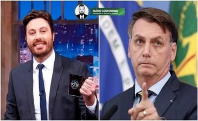 """Danilo Gentili revela que Bolsonaro pediu sua demissão: """"Esse 'fdp' foi pedir minha cabeça"""""""