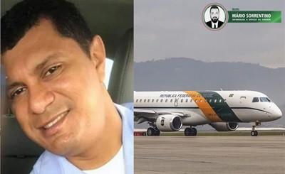 Sargento preso com 39 kg de droga em avião, segue na FAB e recebe salário