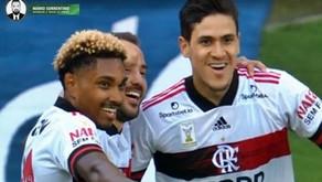 Flamengo vence de goleada o Corinthians e assume liderança do Campeonato Brasileiro