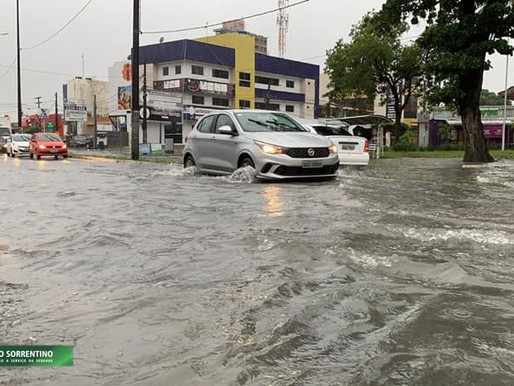 Inmet emite alertas de perigo potencial de chuvas intensas para 85 cidades da Paraíba