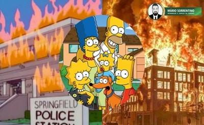 O desenho 'Os Simpsons' previram tudo o que está acontecendo nos EUA