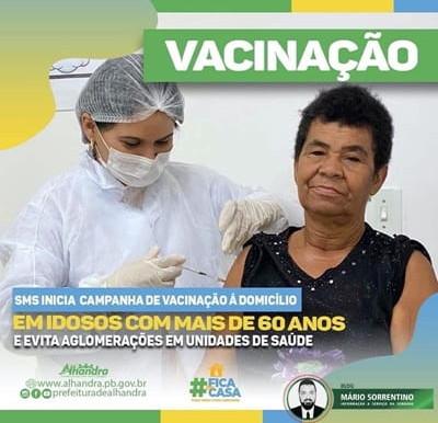Prefeitura de Alhandra inicia campanha de vacinação no município
