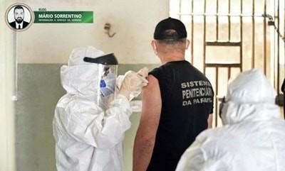 Cadeia pública de Alhandra recebe segunda etapa da campanha de vacinação contra a influenza